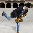 Saxophonist — Stock Photo #28615383
