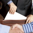 Settlement agreement — Stock Photo