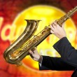 Saxophonist — Stock Photo #29219643