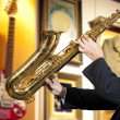 Saxophonist — Stock Photo #29343537