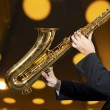 Saxophonist — Stock Photo #30847227