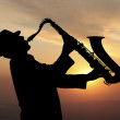 Saxophonist — Stock Photo #31922699