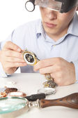 Zegarmistrz — Zdjęcie stockowe