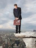 Sadness businessman — Stock Photo