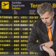Stock Photo: Flight delay