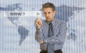 Search perfect business — Stock Photo