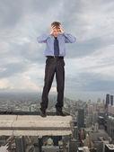 Financial crisis. Business concept — Stock Photo