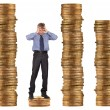 Stock Photo: Financial and crisis concept