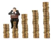 Financial and crisis concept — Stock Photo