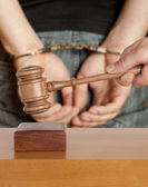 Handcuffs — Stock Photo