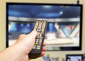 Television remote control  — Stock Photo