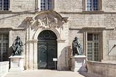 University of Medicine  on Montpellier — Stock Photo