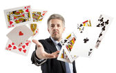 Lucky You, royal flush — Stock Photo