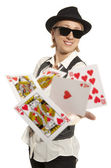 Lucky You, royal flush and  — Stock Photo