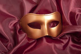 Golden carnival mask  — Stock Photo