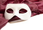 White theatrical mask — Stock Photo