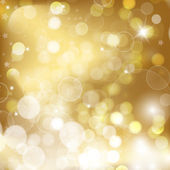 Gold christmas background — Stock Vector
