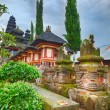 Stock Photo: Balinese temple