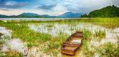 Jezioro lak — Zdjęcie stockowe