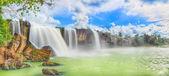 Suchý jiří vodopád — Stock fotografie
