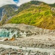 fox  glacier — Stock Photo