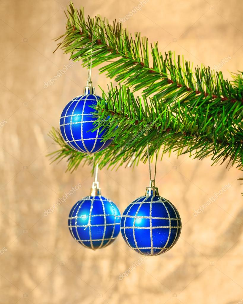 Christmas decorations on abstract background — Stock Photo #15780791