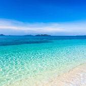 τροπική παραλία malcapuya — Φωτογραφία Αρχείου