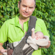 Father and baby — Stockfoto