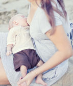 Breastfeeding — Stock Photo