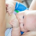 Breastfeeding — Stock Photo #40071779