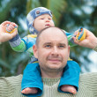 Baby and father — Stock Photo #40072363