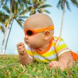 Stock Photo: Cute baby