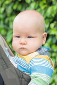 Portrait of a baby — Stock Photo
