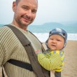 Baby and father — Stock Photo #41799715
