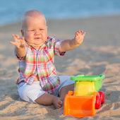 Playing baby — Stock Photo
