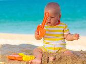 Cute baby — Stock Photo