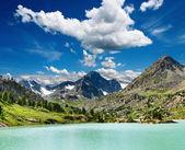 Mountain lake Darashkol — Stock Photo