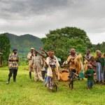 Batwa pigmy in Uganda — Stock Photo
