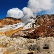 Stock Photo: Active volcanic crater