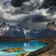Torres del Paine, Lake Pehoe — Stock Photo