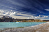 Torres del Paine, Lake Grey — Stock Photo
