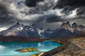 Torres del Paine, Lake Pehoe — Stock Photo