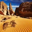 Stock Photo: SaharDesert, Tassili N'Ajjer, Algeria