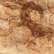 Rock paintings of Tassili N'Ajjer - Stock Photo
