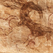 Stock Photo: Rock paintings of Tassili N'Ajjer