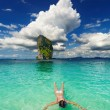 Stock Photo: Tropical beach, snorkeling