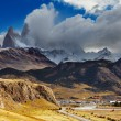 Chalten town, Patagonia, Argentina - Stock Photo