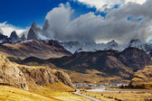 Chalten town, Patagonia, Argentina — Stock Photo