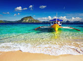 Tropical beach, Philippines — Stock Photo
