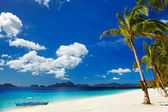 Playa tropical, filipinas — Foto de Stock